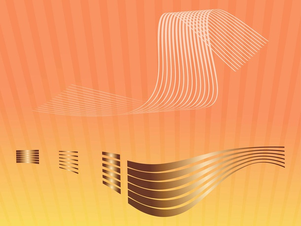 Curved Lines Vector