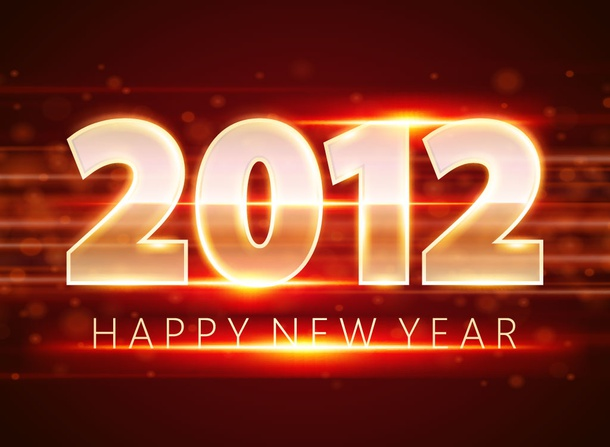 New Year Vector Design