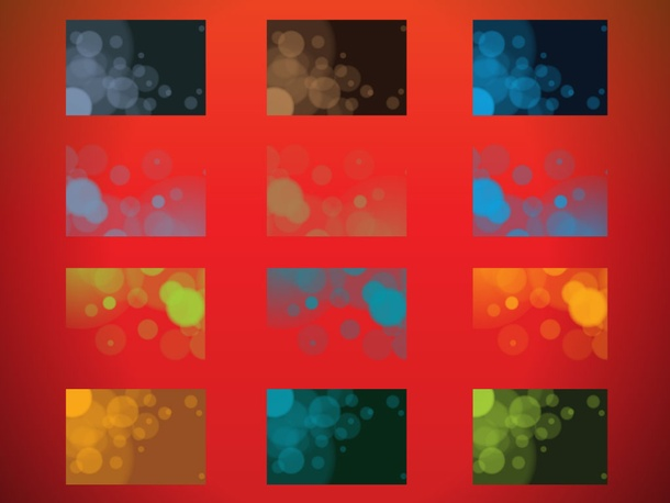 Abstract Particle Backgrounds