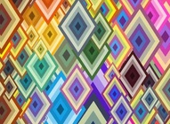 Colorful Diamond Pattern