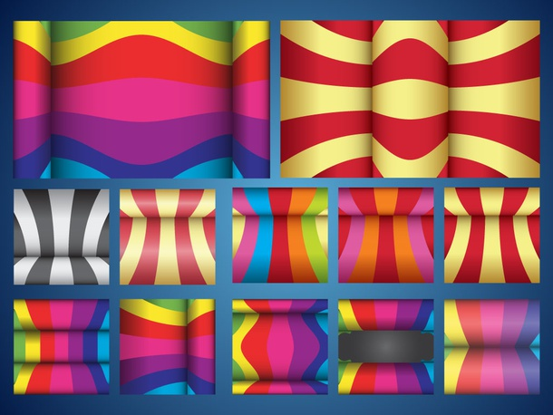 Colorful Curves Patterns