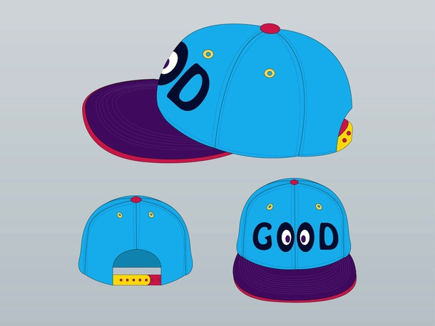 Colorful Hat Vector