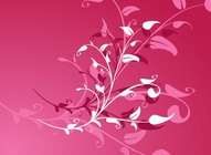 Pink Plants Background