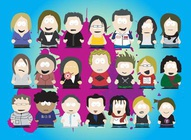 South Park Style Characters