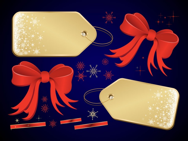 Winter Present Vectors