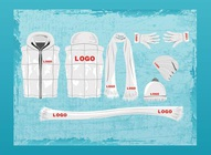 Cold Weather Clothing Vectors