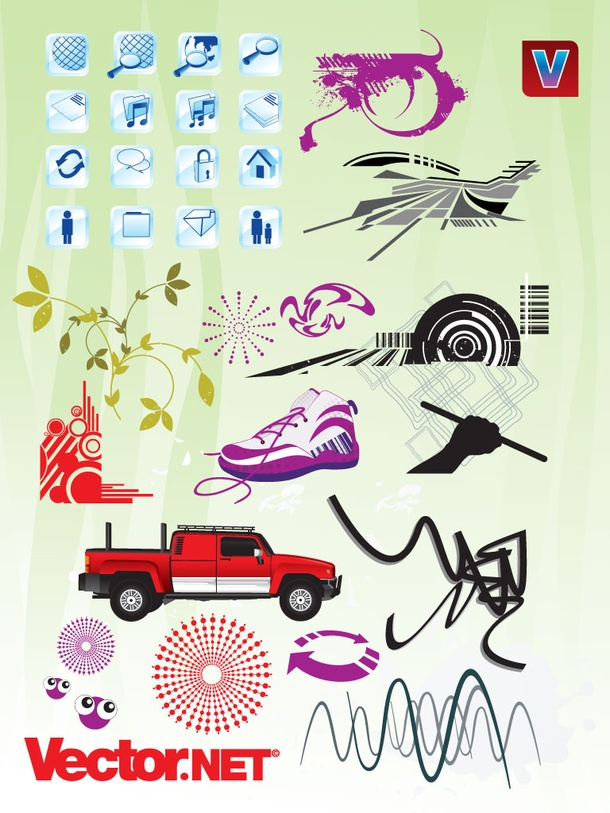 Vector Graphics Variety Pack