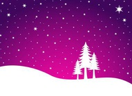 Snow Winter Landscape Vector