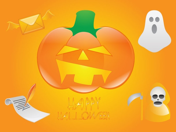 Halloween Card Graphics