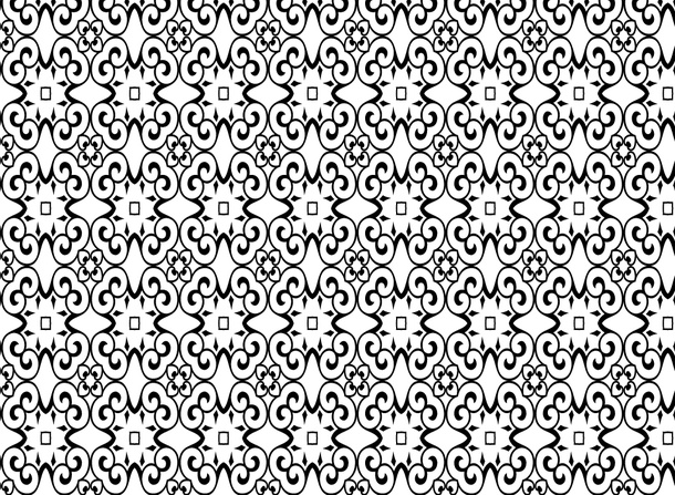 Scroll Floral Pattern Background