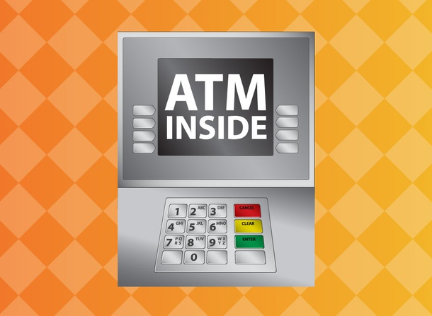 Cash Machine Vector