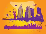 City Theme Vectors