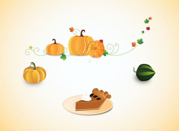 Thanksgiving Graphic Elements