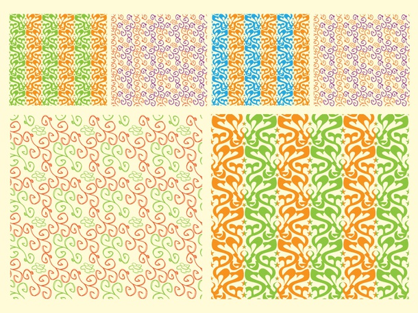 Organic Tile Patterns