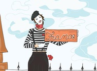 Mime Illustration