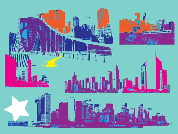 City Graphics Vectors