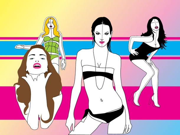 Top Models Vectors