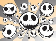 Jack Skellington Heads