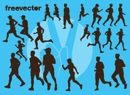 Runners SIlhouettes