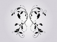 Free Vector Filigree
