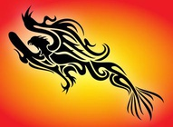 Tribal Phoenix Graphics