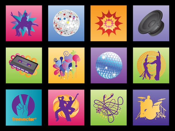 Music Graphics Vectors