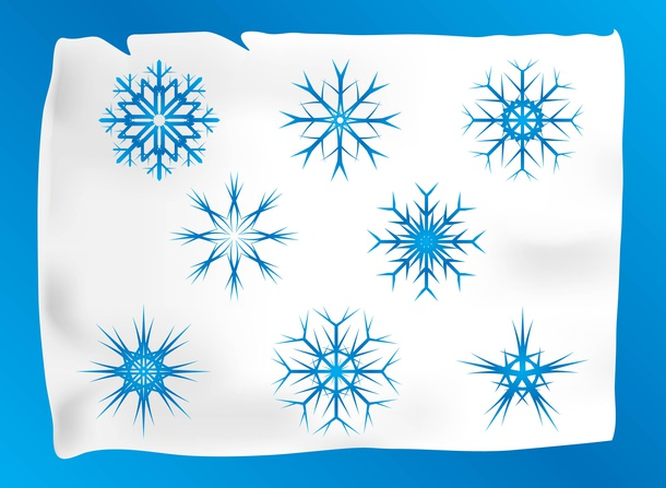 Vector Snow Icons