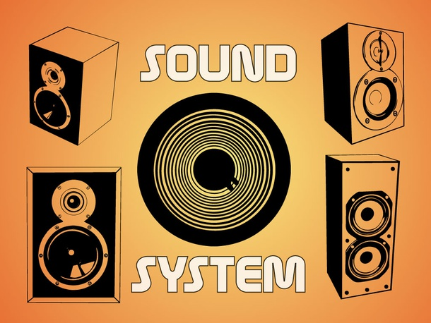 Sound System Graphics