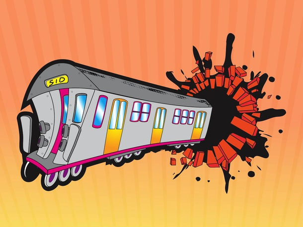 Graffiti Train