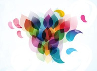 Rainbow Leaves Design