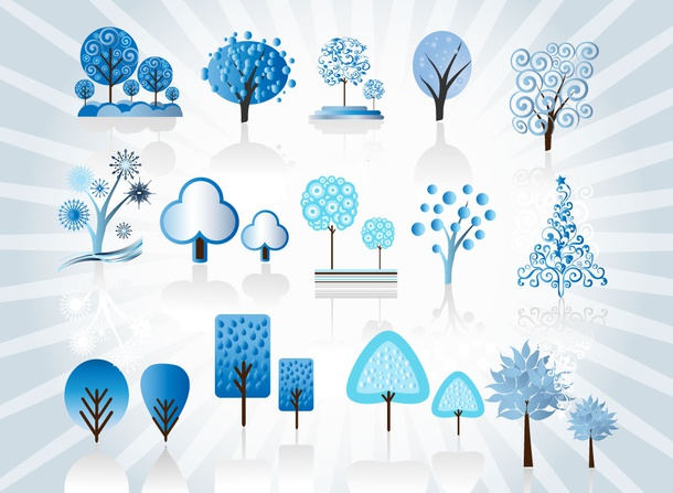 Frozen Tree Vectors