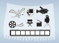 Movie And Film Vectors