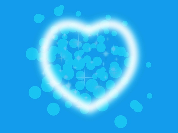 Heart And Bubbles