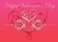 Decorative Valentine Design