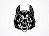 Fierce Wolf Graphic