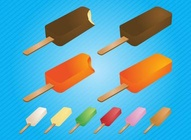 Popsicle Ice Blocks
