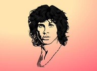 Jim Morrison Tribute Graphics