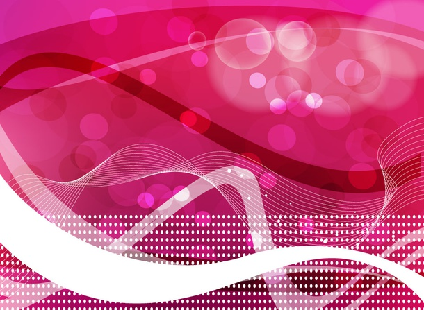 Pink Ribbon Background Art