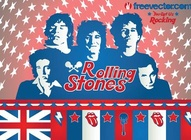 Rolling Stones Vector Illustration