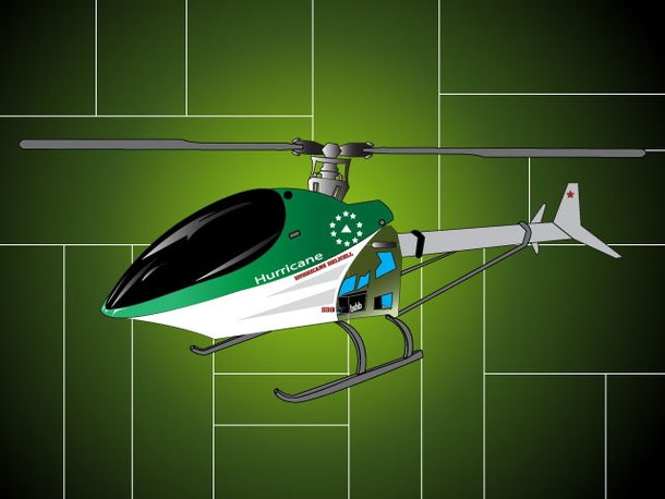 Hurricane Toy Helicopter