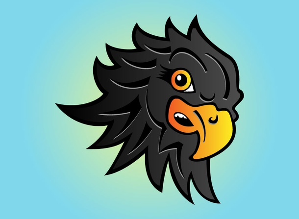 Eagle Head Cartoon