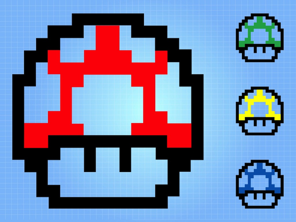 8-Bit Mushrooms