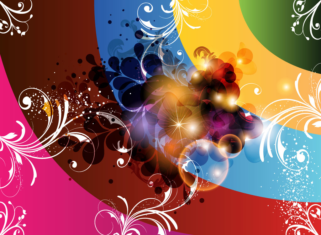 Abstract Colorful Graphics