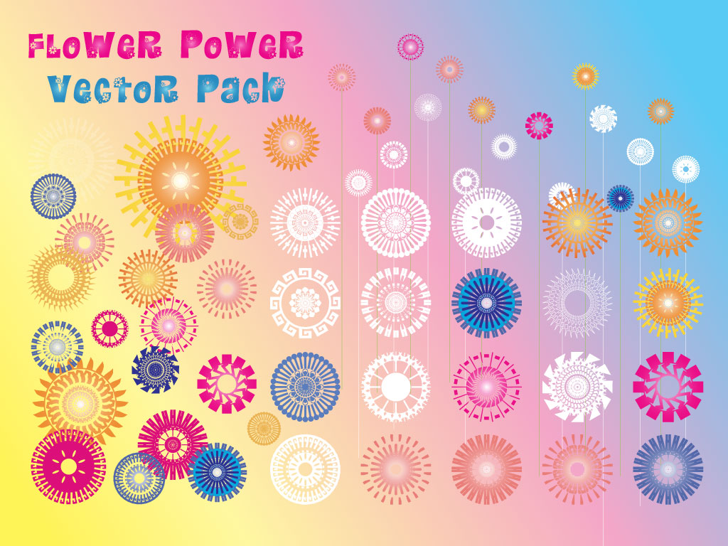 Abstract Flower Pack
