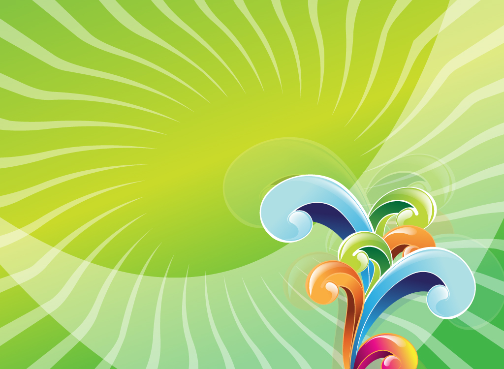 Abstract Spiral Vector