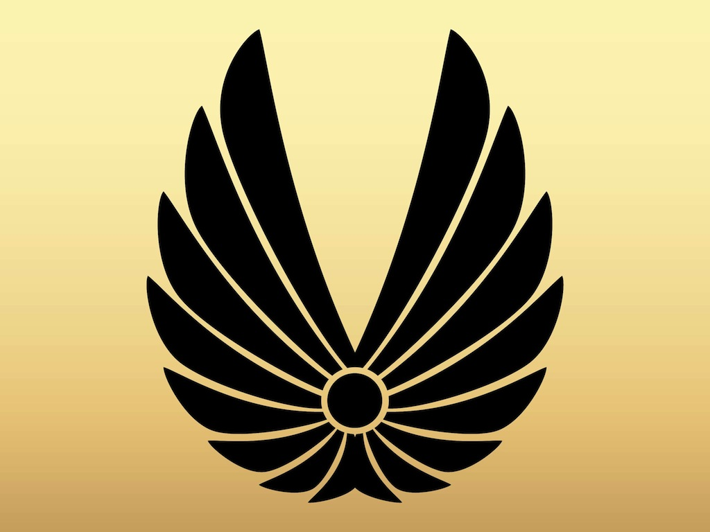 Abstract Wings Icon