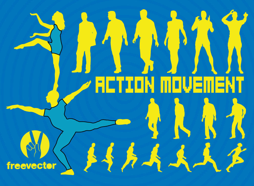 Action Silhouettes