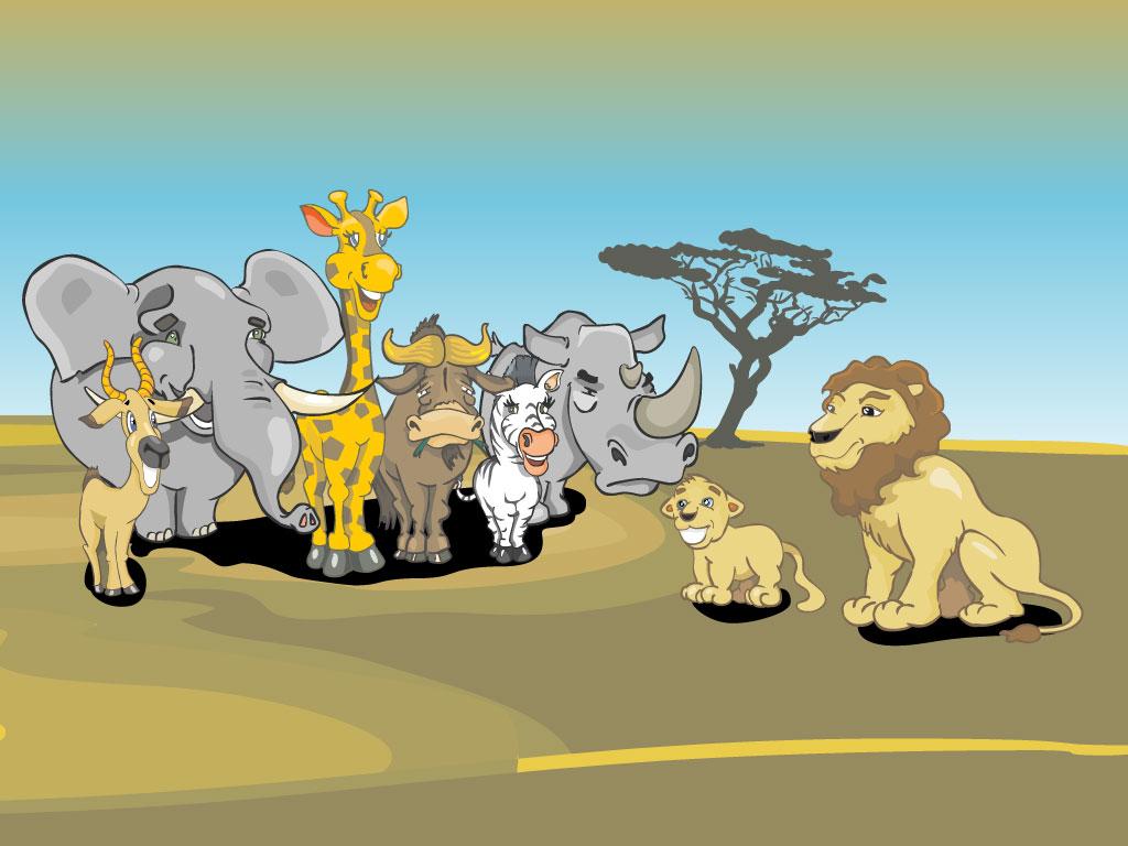 safari cartoon wallpaper - photo #10
