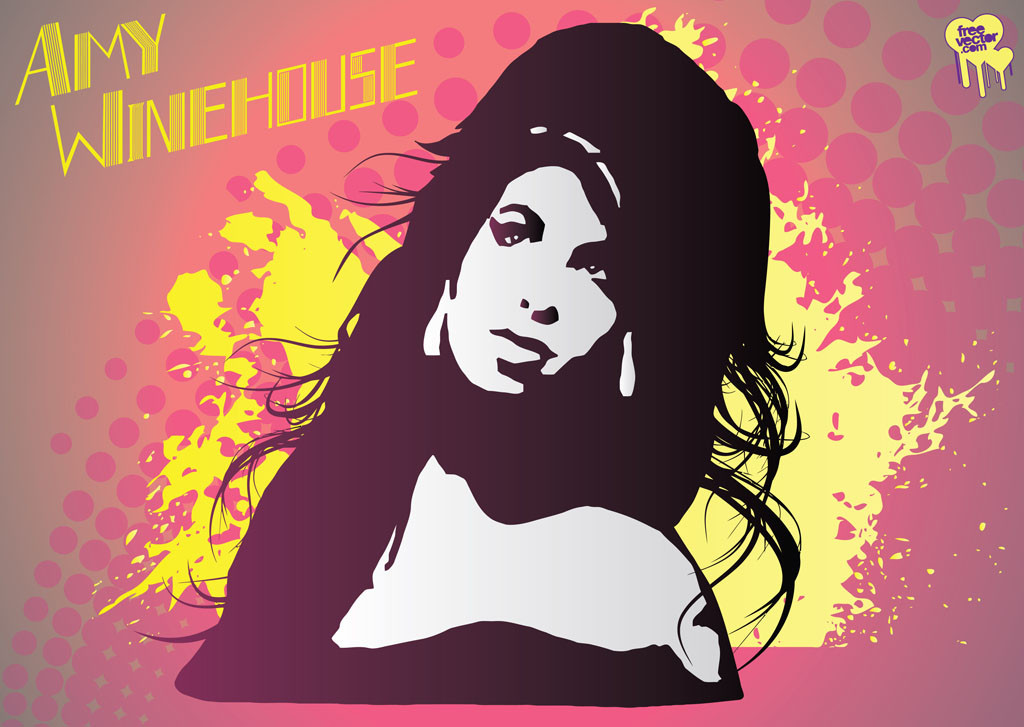 Amy Winehouse Vector Tribute