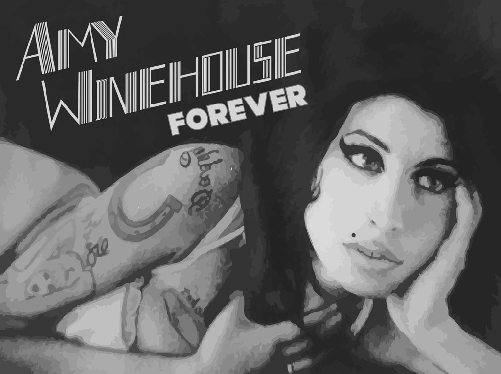 Amy Winehouse Forever Wallpaper